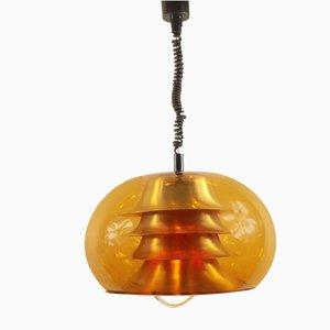 Lámpara de techo era espacial de Herda, años 70