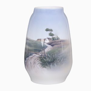 Hand Painted Model 2776/1224 Vase from Royal Copenhagen, 1970s