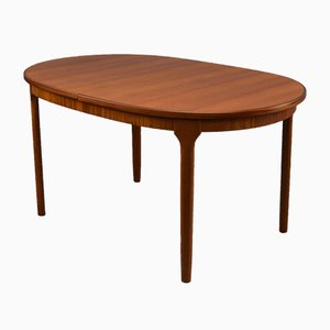 Oval Mid-Century Dining Table from McIntosh