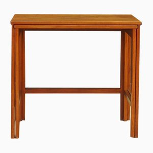 Mid-Century Teak Nesting Tables from France & Daverkosen