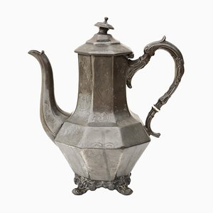 Vintage Pewter Tea Pot, 1990s