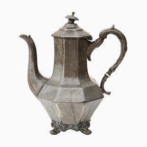 Vintage Teetasse aus Zinn im antiken Stil, 1990er