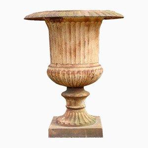 Cache-Pot Vintage en Fonte, 1960s