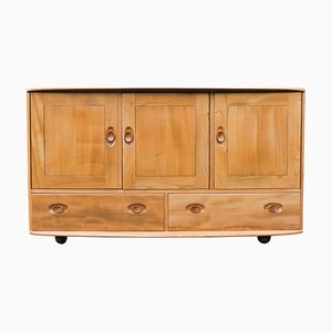 Blonde Windsor Model 468 Sideboard with Drawers from Ercol, 1960s