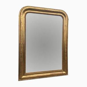 Miroir Louis Philippe Antique à Feuille d'Or