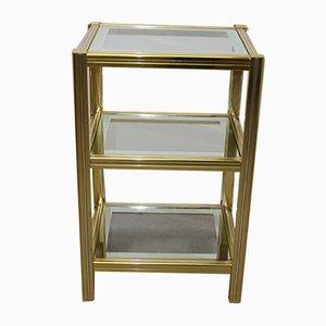 Tavolino dorato di Pierre Vandel, anni '60