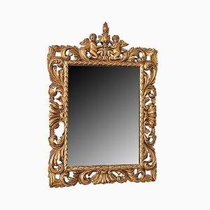 Antiker italienischer Florentiner Spiegel