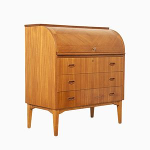 Teak Secretaire by Egon Ostergaard for MSI, 1970s