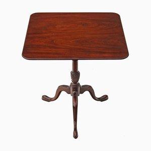 Table Vintage à Plateau Inclinable Style Géorgien en Acajou
