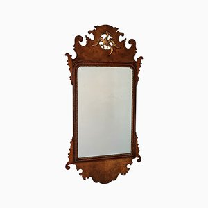 Antique George III Fret Mirror