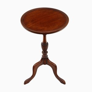 Vintage Georgian Style Mahogany Table Side