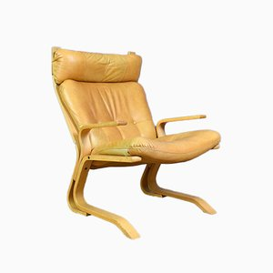 Kengu Chair by Elsa & Nordahl Solheim for Rybo Rykken & Co, 1970s