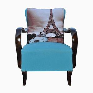 Art Deco Parisian Armchair, 1920s