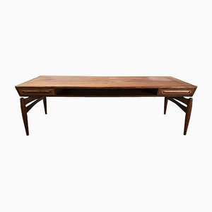 Table Basse en Teck par Johannes Andersen pour Trensum, 1960s