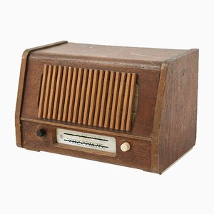 Radio Bluetooth vintage de Telefunken, años 40