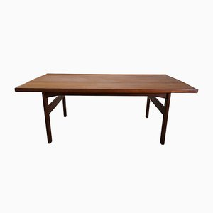 Tavolino da caffè in teak massiccio di Tove & Edvard Kindt-Larsen, anni '60