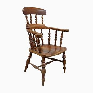 Antique Smoker's Bow Chair