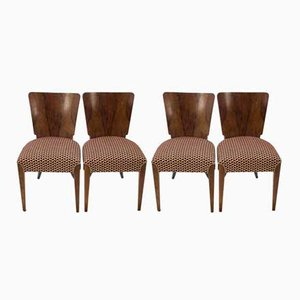 Dining Chairs by Jindřich Halabala for UP Zavody, 1960s, Set of 4