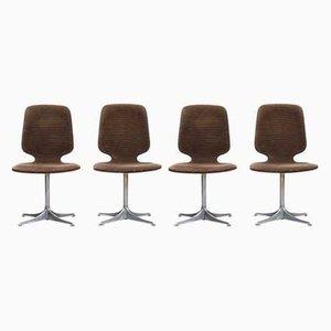 Chaises de Salon Modèle Sedia par Horst Brüning pour COR, 1960s, Set de 4