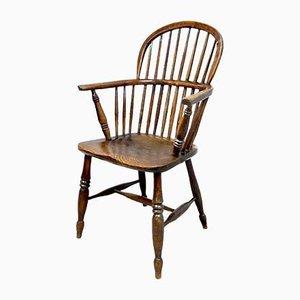 Antiker Windsor Armlehnstuhl