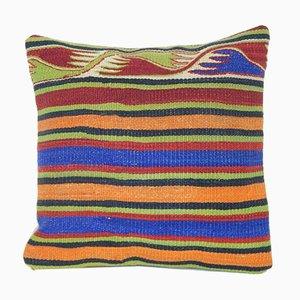 Housse de Coussin Kilim Fait à la Main de Vintage Pillow Store Contemporary