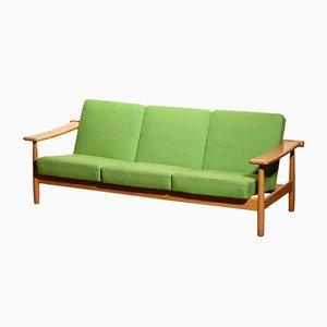 Getama Style Danish Oak Sofa, 1960s