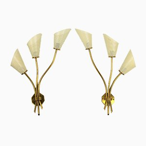 Sconces from Kobis & Lorence, 1950s, Set of 2