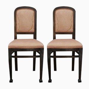 Chaises Art Déco, Set de 2
