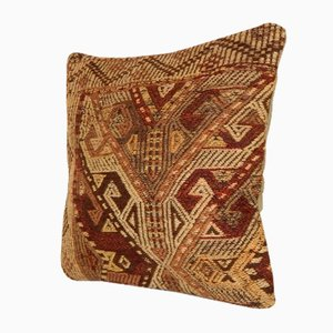 Handwoven Kilim Throw Pillow Cover from Vintage Pillow Store Contemporary