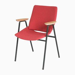 Lachsfarbener Lupina Shell Chair von Niko Kralj für Stol Kamnik, 1970er