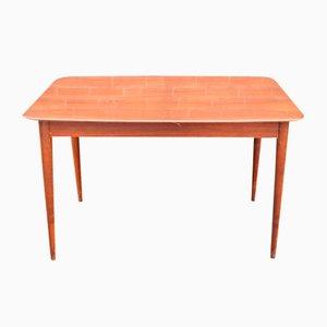 Mesa de comedor extensible danesa de palisandro, años 60