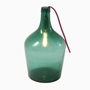 Vintage Demijohn Lamp Light, 1950s