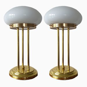 Mid-Century Table Lamps for Kamenický Šenov, 1979, Set of 2