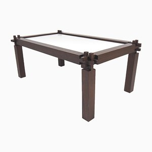 Solid Wenge Coffee Table, 1970s