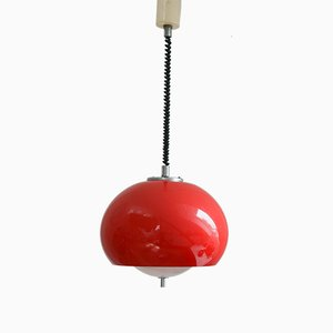 Space Age Pendant Lamp from Guzzini & Meblo, 1970s