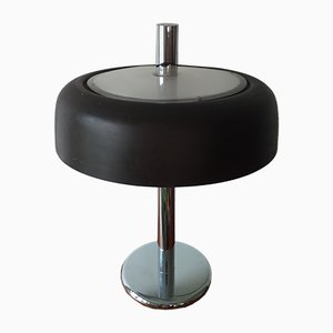 Large Mid-Century Mushroom Table Lamp from Hillebrand Lighting, 1970s