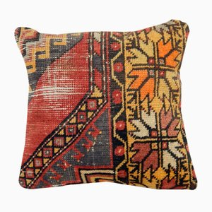 Patterned Oushak Rug Pillow Cover from Vintage Pillow Store Contemporary
