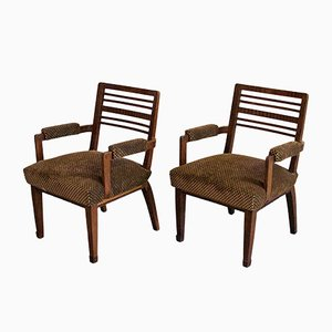Vintage Armchairs by Pier Luigi Colli, 1940s, Set of 2