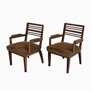 Vintage Armchairs by Pier Luigi Colli, 1940s, Set of 2