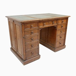 Small Antique Victorian Oak Desk