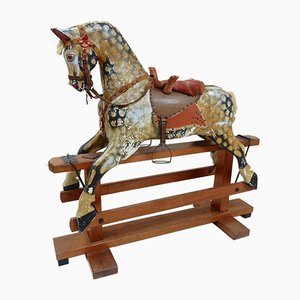 Large Vintage Rocking Horse from J. Collinson
