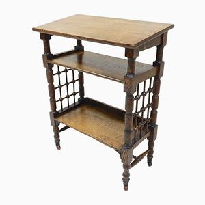 Antique Shelving Unit by Leonard Wyburd for Liberty