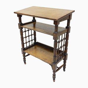 Antique Shelving Unit by Leonard Wyburd for Liberty