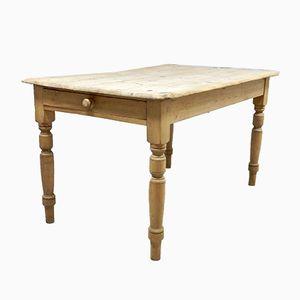 Antique Pine Kitchen Table