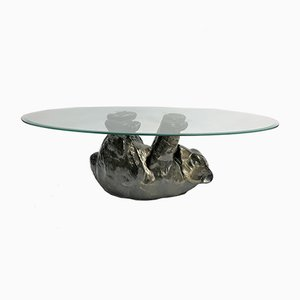 Table Basse Ours Sculpturale, 1980s
