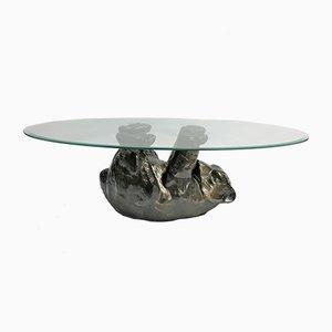 Tavolino da caffè scultoreo, anni '80