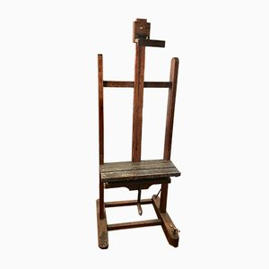 Antique Victorian Artist Easel, 1900s