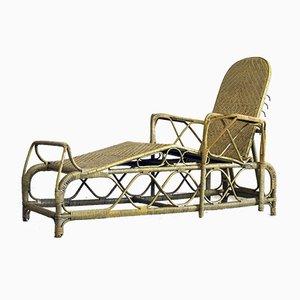 Italienischer Vintage Liegestuhl, 1930er