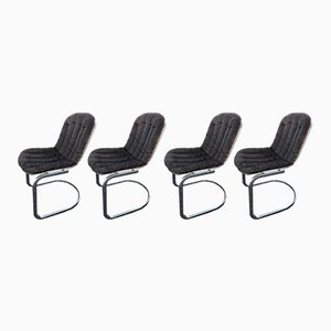 Vintage Chairs by Gastone Rinaldi, 1970s, Set of 4
