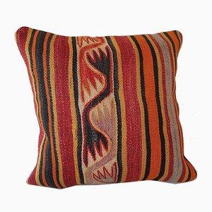Housse de Coussin Kilim Décoloré de Vintage Pillow Store Contemporary